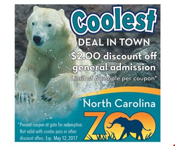 $2.00 Discount Off General Admission