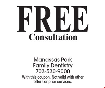 FREE Consultation. With this coupon. Not valid with other offers or prior services.