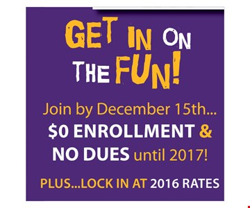 $0 enrollment and no dues