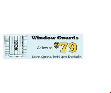 $79 Window Guards