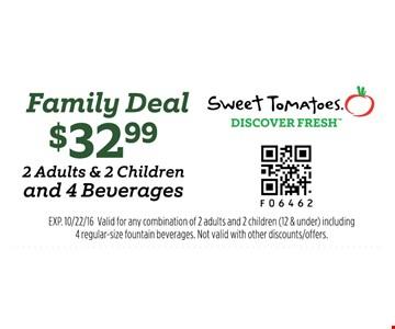 $32.99 family deal