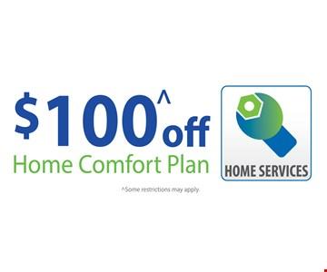 $100 home comfort plan 3-24-17