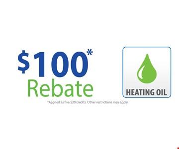 $100 Rebate 3-24-17