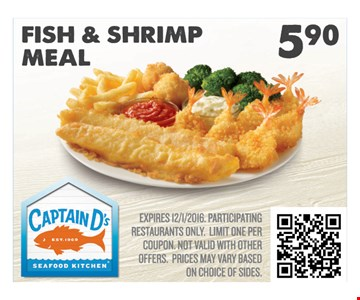 Fish & Shrimp Meal $5.90