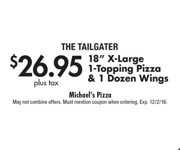$26.95 plus tax 18
