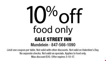 Gale street inn coupons