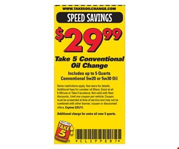 $29.99 oil change