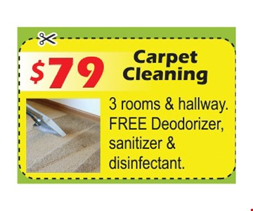 $79 carpet cleaning