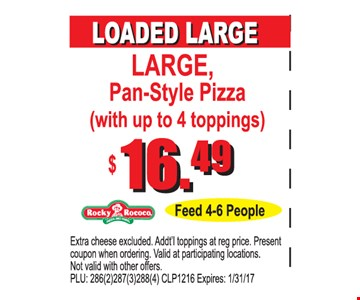 $16.49 loaded large