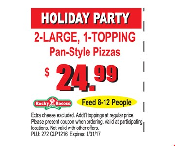 $24.99 holiday party