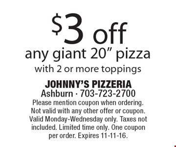 $3 off any giant 20