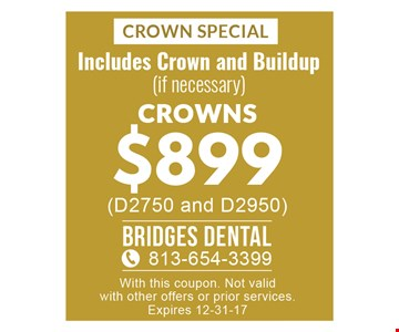Crown Special $899
