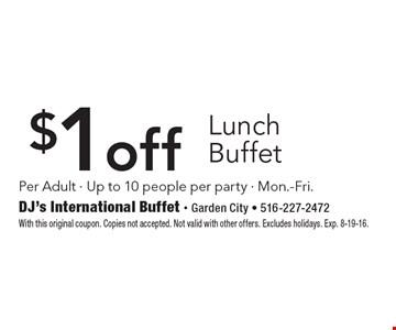 Dj 39 S International Buffet Coupons