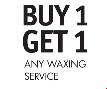 Buy 1 Get 1 Any Waxing Service
