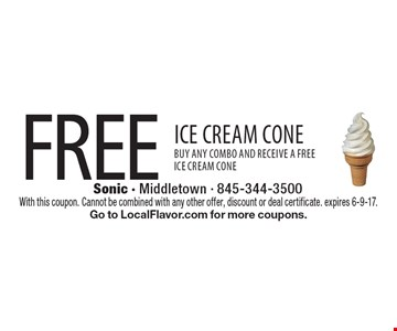 Free Ice Cream Cone-Buy any combo and receive a free ice cream cone. With this coupon. Cannot be combined with any other offer, discount or deal certificate. expires 6-9-17. Go to LocalFlavor.com for more coupons.