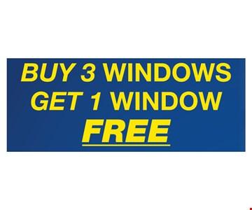 buy 3 windows get 1 free