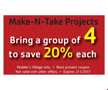 Save 20% On Group