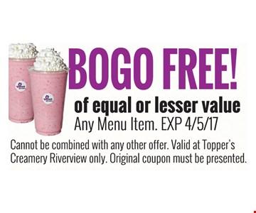 BOGO free