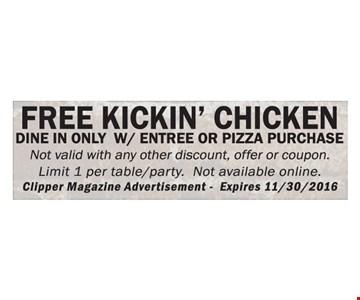 Free Kickin' Chicken