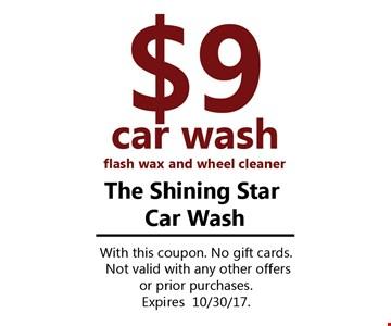 $9 Car Wash
