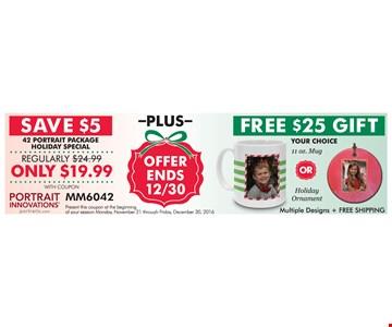 Save $5 Plus Free $25 Gift