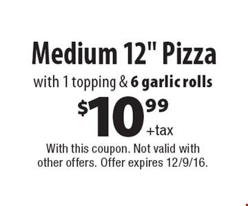 $10.99+taxMedium 12