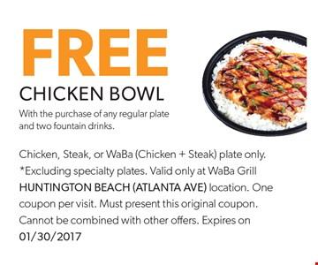 Free Chicken Bowl