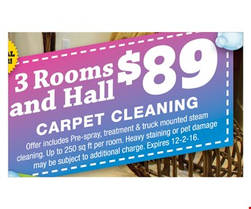 3 rooms and hall $89
