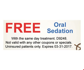 Free Oral Sedation