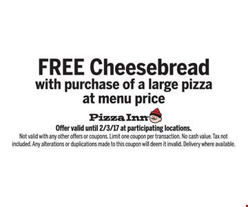 Free Cheesebread