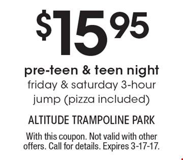 Altitude trampoline park billerica coupons
