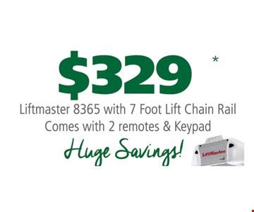 $329 Lifmaster