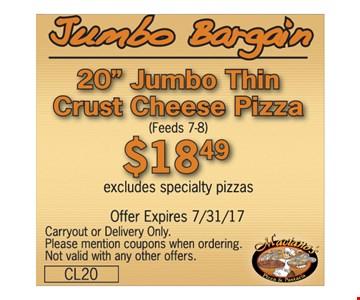 $18.49 Jumbo Bargan