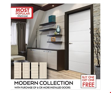 Buy One Get One Free Modern Collection