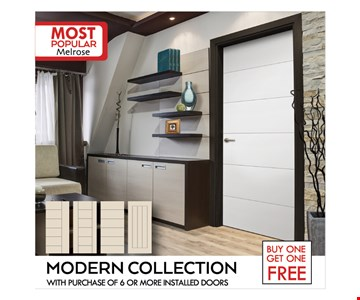 Buy one get one free - modern collection