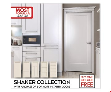 Buy one get one free - shaker collection