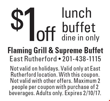 Flaming grill coupons