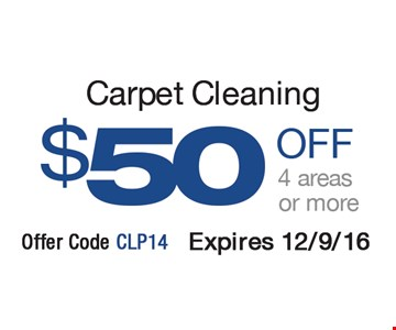Carpet cleaning $50 off