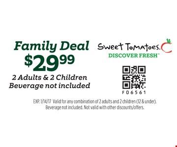 $29.99 family deal