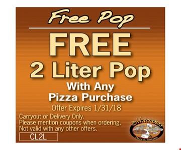 Free 2 Liter Soda