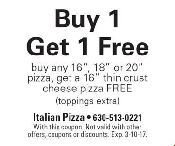 Buy 1 Get 1 Free. Buy any 16