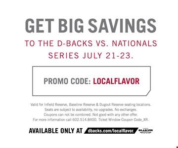 Get big savings
