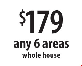 $178 any 6 areas whole house. Offers expires 11-10-17.