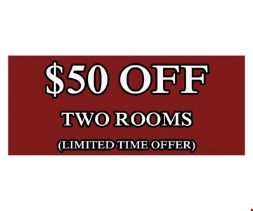 $50 Off Two Rooms