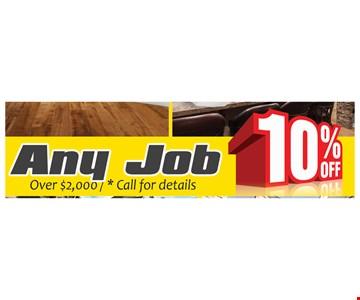 10% Off Any Job