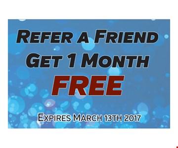 1 free month