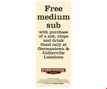 Free medium sub
