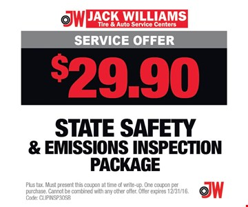 $29.90 Service Offer