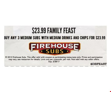 $23.99 family feast