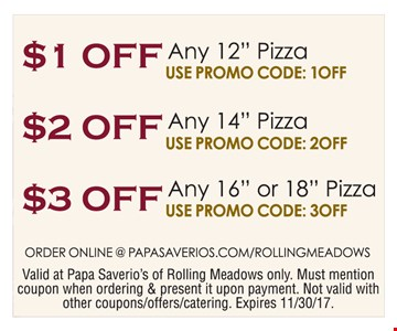 $1 off any 12